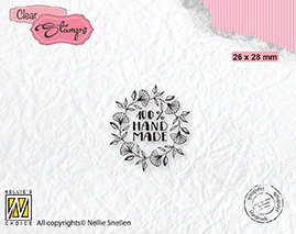 DTCS032 Clear Stamps texts 100% Handmade