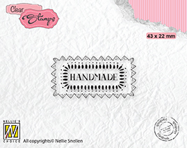 DTCS030 Clear Stamps texts Handmade