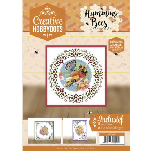Creative Hobbydots 15 Jeanine's Art - Humming Bees