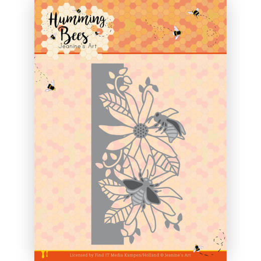 Dies - Jeanine's Art - Humming Bees - Flower Border