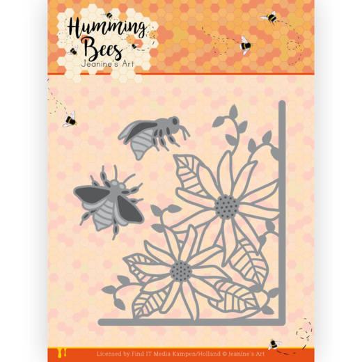 Dies - Jeanine's Art - Humming Bees - Flower Corner