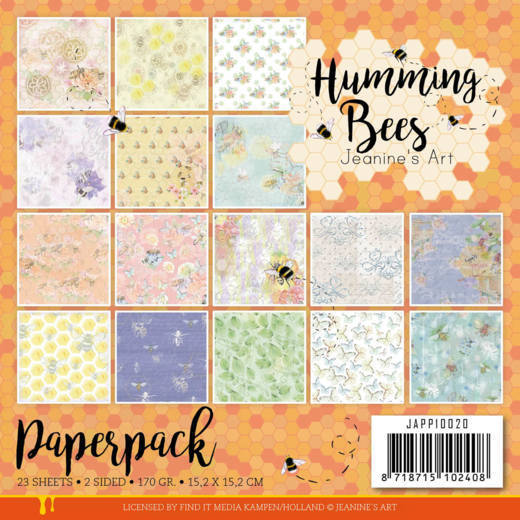 Paperpack - Jeanine's Art - Humming Bees