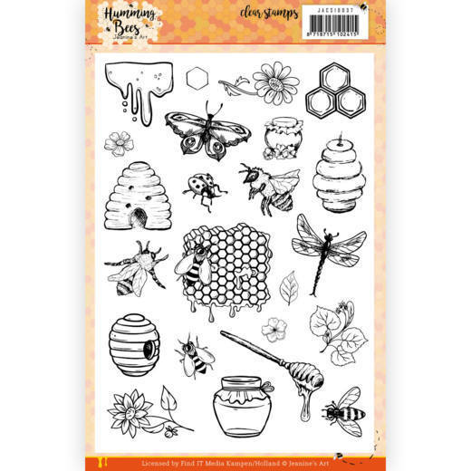 Clear Stamps - Jeanine's Art - Humming Bees