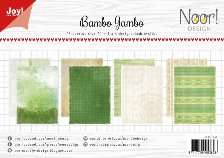 Papierset - Noor - Design Bambo Jambo