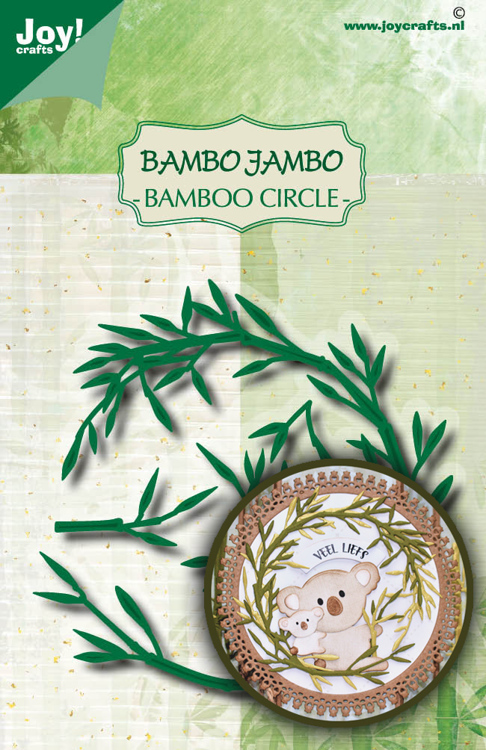 Stans-embosmal - Noor - Bamboe cirkel