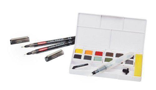 Derwent line and wash paint set DIB2305866 (06-21)