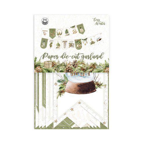 Piatek13 - Paper die cut garland Cosy Winter P13-COS-32 10x15cm (06-21)