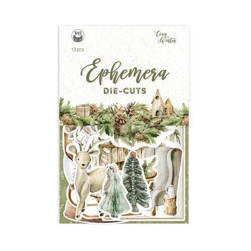 Piatek13 - Paper Ephemera Cosy Winter P13-COS-32 10x15cm (06-21)
