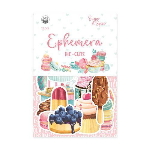 Piatek13 - Paper Ephemera Sugar and Spice P13-SAS-32 10x15cm (06-21)
