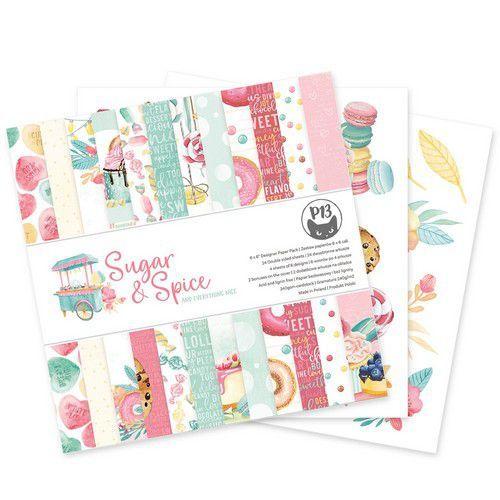 Piatek13 - Paper pad Sugar and Spice, 6x6'' P13-SAS-09 (06-21)
