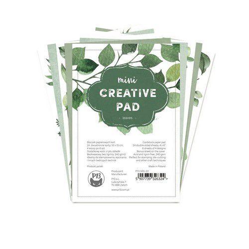 Piatek13 - Mini Creative pad Leaves, 6x4 P13-MIS-20 (06-21)
