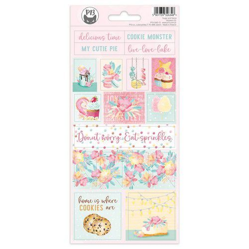 Piatek13 - Sticker sheet Sugar and Spice 02 P13-SAS-12 10,5x23cm (06-21)