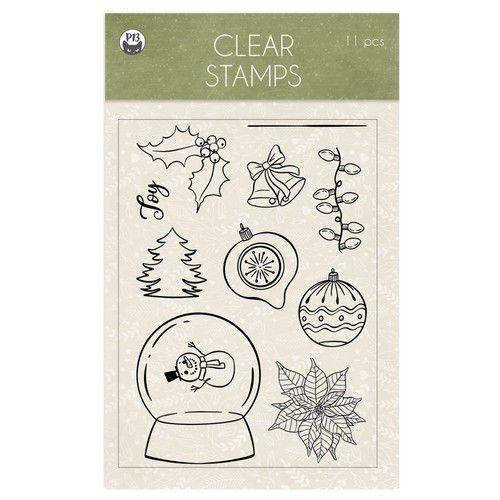 Piatek13 - Clear stamp set Cosy Winter 01 P13-COS-30 A6 (06-21)