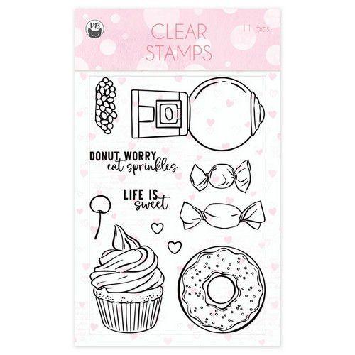 Piatek13 - Clear stamp set Sugar and Spice 01 P13-SAS-30 A6 (06-21)