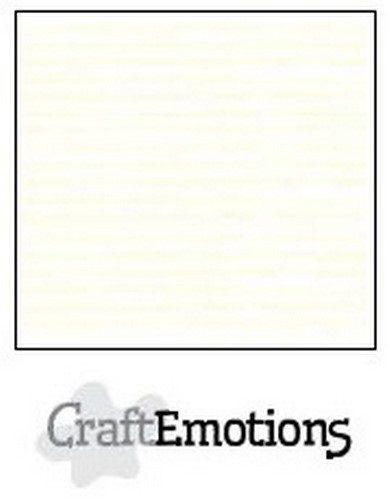 CraftEmotions karton glad 100 vel gebroken wit Bulk SC-04 A4 250gr