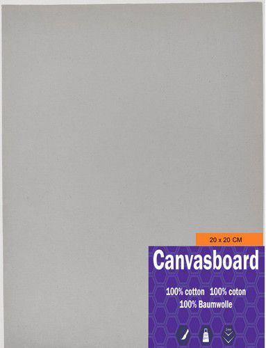 Canvasboard 20x20CM 3 mm (05-21) 250 gram