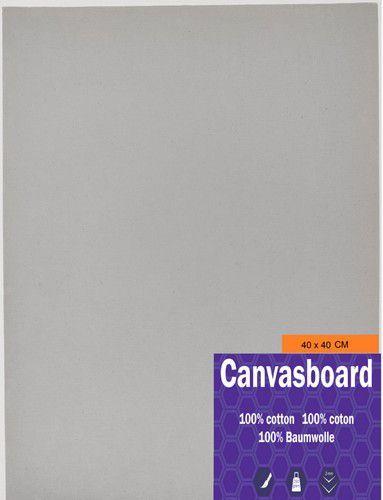 Canvasboard 40x40CM 3 mm (05-21) 250 gram