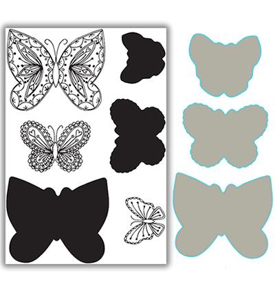 Layering Flutterbies
