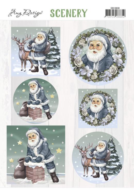 Scenery -Amy Design -Santa Claus