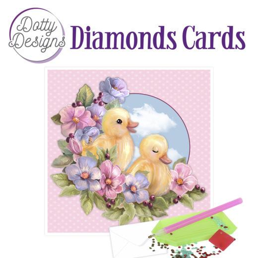 Dotty Designs Diamond Cards - Ducklings