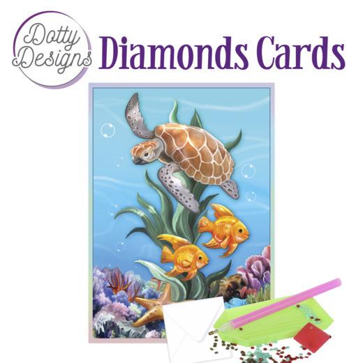 Dotty Designs Diamond Cards - Underwater World