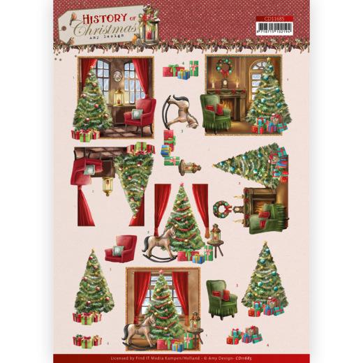 3D Cutting Sheet - Amy Design - History of Christmas - Christmas Home