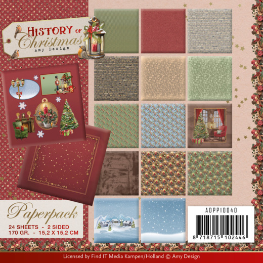 Paperpack - Amy Design - History of Christmas