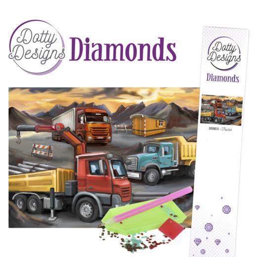 Dotty Designs Diamonds - Trucks