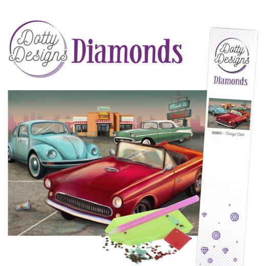 Dotty Designs Diamonds - Vintage Cars