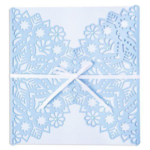 Sizzix Thinlits Die - Snowflake Wrap 665344 Lisa Jones (07-21)