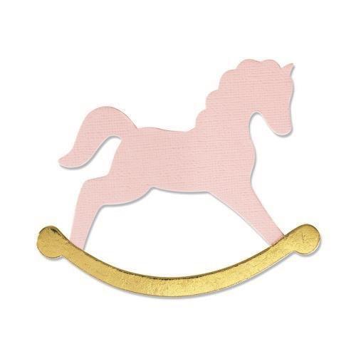 Sizzix Bigz Die - Rocking Horse 665349 Olivia Rose (07-21)