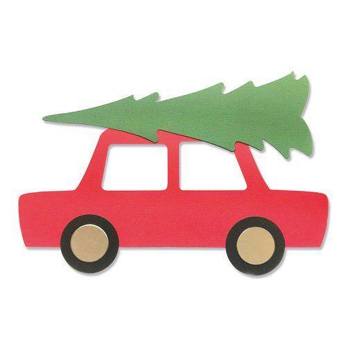 Sizzix Bigz Plus Die - Car & Tree 665351 Olivia Rose (07-21)