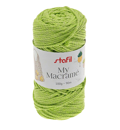 Macrame Yarn, Light Green