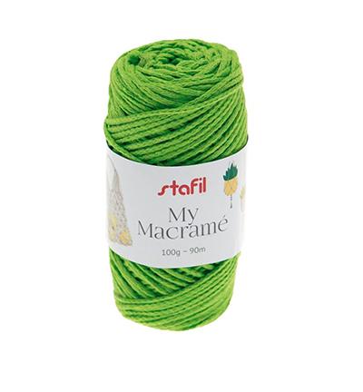 Macrame Yarn, Green