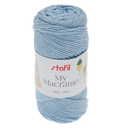 Macrame Yarn, Blue Baby