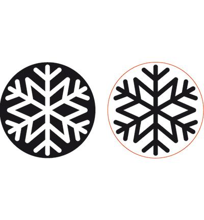 Foam stamps Snowstar