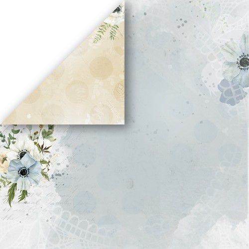 Craft&You Morning Mist Scrapbooking single paper 12x12 CP-MM03 (07-21)