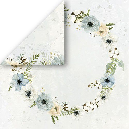Craft&You Morning Mist Scrapbooking single paper 12x12 CP-MM04 (07-21)