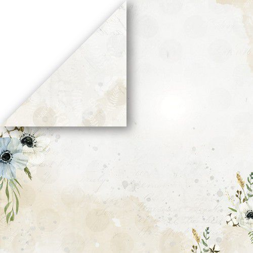 Craft&You Morning Mist Scrapbooking single paper 12x12 CP-MM05 (07-21)
