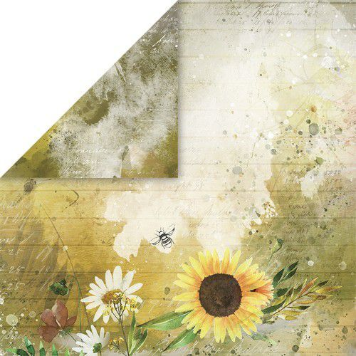 Craft&You Blossom Meadow Scrapbooking single paper 12x12 CP-BM03 (07-21)