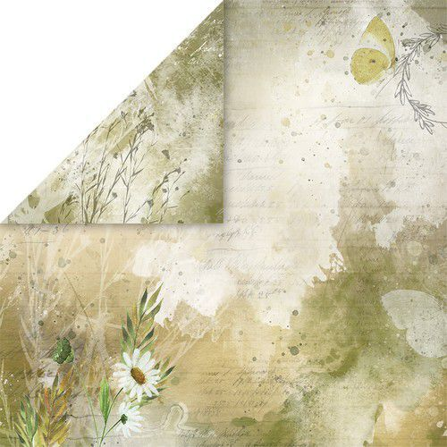 Craft&You Blossom Meadow Scrapbooking single paper 12x12 CP-BM06 (07-21)