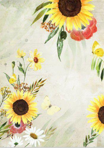 Craft&You Blossom Meadow Rice paper A4 CR06-BM02 (07-21)