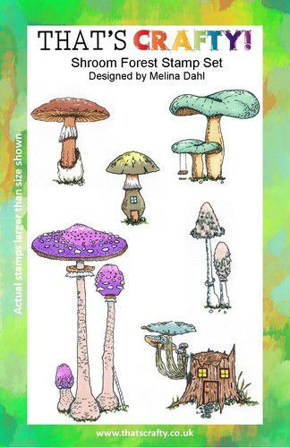 That's Crafty! Clearstamp A5 - Shroom Forest 105427 (07-21)
