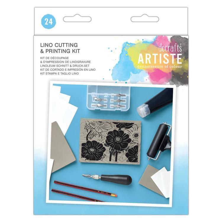 Artiste Lino Printing set (24pc)