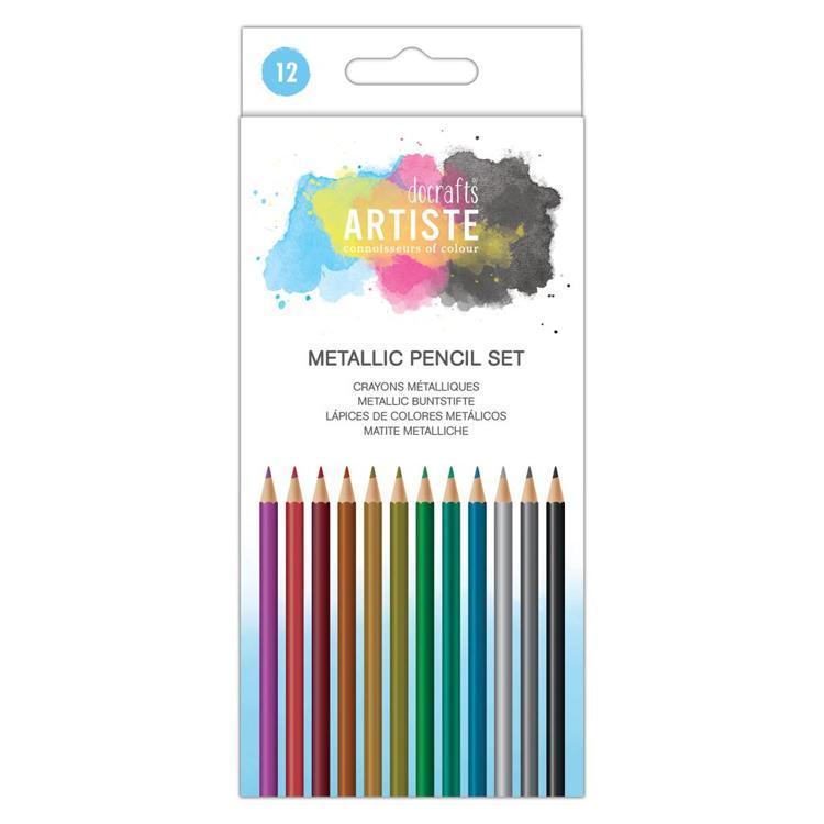 Artiste Metallic Pencil Set (12 pk)