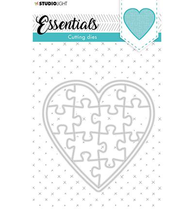 SL Cutting Die Puzzle heart Essentials nr.74