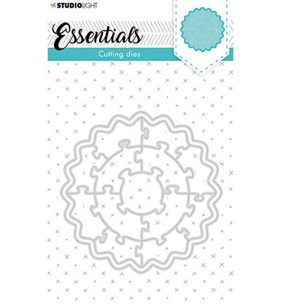 SL Cutting Die Puzzle circle Essentials nr.75