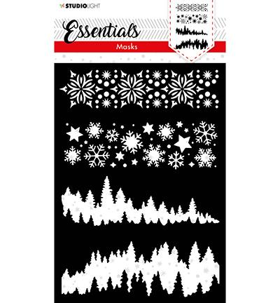 SL Mask Christmas Horizontal Borders Essentials nr.36