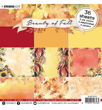SL Paper pad Pattern paper Beauty of Fall nr.12