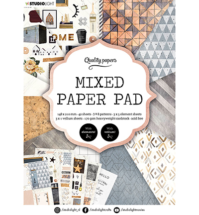 SL Mixed Paper Pad Pattern paper Essentials nr.4